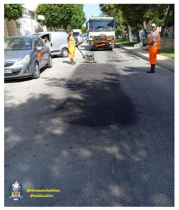 Δήμος Κορινθίων: Εξειδικευμένη παρέμβαση στις βλάβες των οδοστρωμάτων