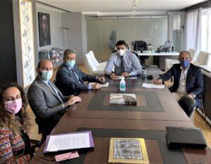 Η Πηγή Λουτρών Ωραίας Ελένης αντικείμενο της συνάντησης του Δημάρχου Κορινθίων Β.Νανόπουλου με το νέο Υπουργό Τουρισμού Β.Κικίλια