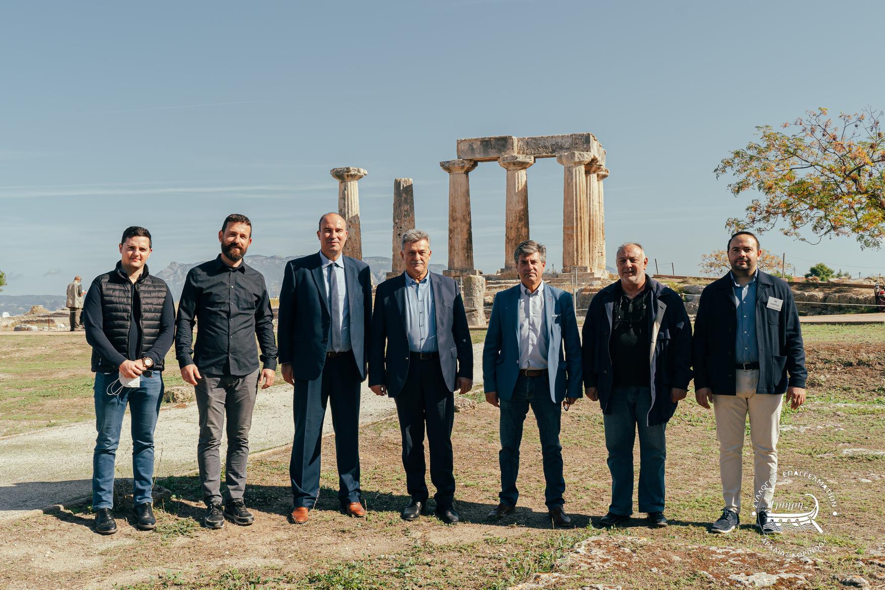 Στις δράσεις για την Παγκόσμια Ημέρα Αρχαιολογίας ο Δήμαρχος Κορινθίων Β.Νανόπουλος